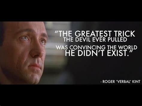 movie quotes kevin spacey the usual suspects 1995 hd the greatest trick quote