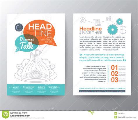 leaflet design concepts brochure flyer design layout template with business