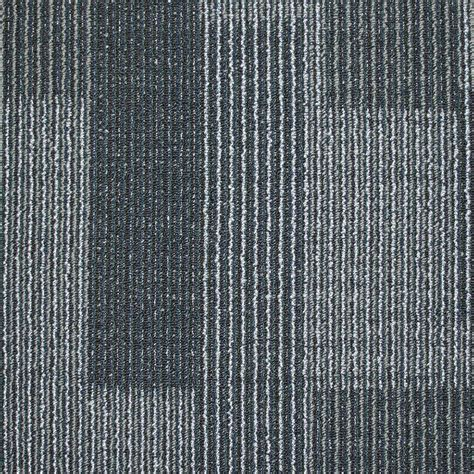 carpet tiles rockefeller midnight blue loop 19 7 in x 19 7 in carpet