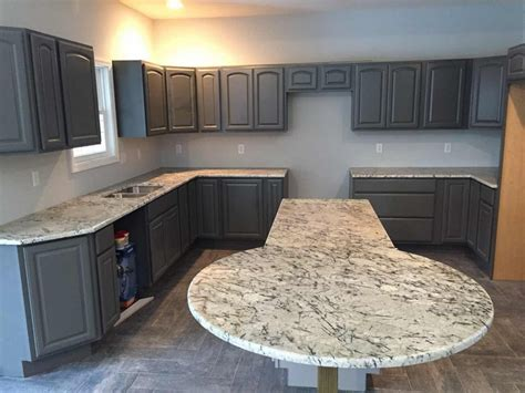 West Chicago Countertops by Blue Granite Kitchen Countertop Blue Limestone