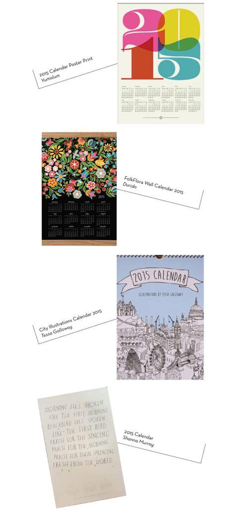 design wall calendar 2015 2015 calendars part 4 design crush