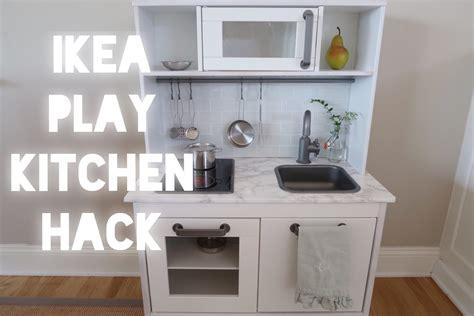ikea kitchen hacks modern ikea play kitchen hack youtube