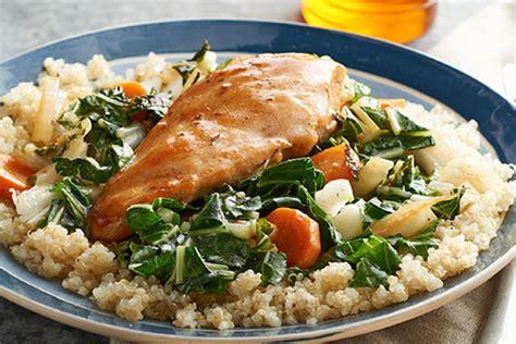 saut 233 ed chicken and quinoa recipe kraft recipes