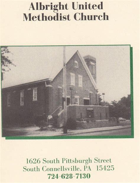 history of albright umc albright united methodist church