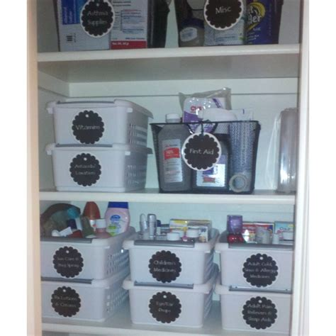 Bathroom Cabinet Organization Ideas Newly Organized Bathroom Cabinet Household Organization
