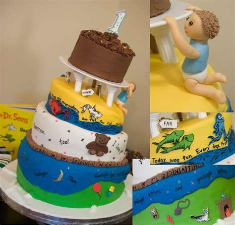 1st Birthday Cake by Picnic Birthday Cakes