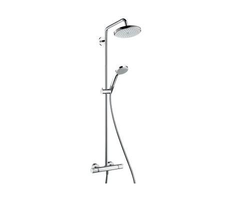hansgrohe rubinetti hansgrohe croma 220 air 1jet showerpipe rubinetteria