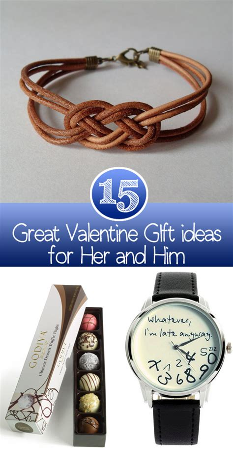 great valentines gifts for 15 great gift ideas for and him