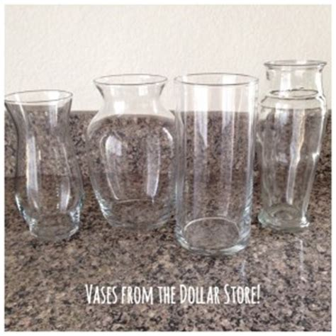 Dollar Store Glass Vases by Diy Painted Glass Vases Runaway