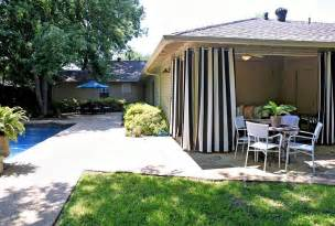 Outdoor Ideas For Patio by Beautiful Outdoor Patio Curtain From Sunbrella Front