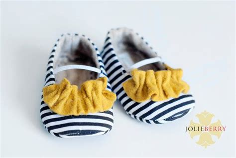 Janey Top Navy Navy janey baby shoes navy blue and white stripe with