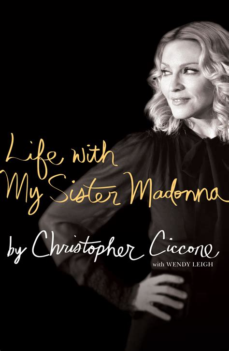 biography madonna book life with my sister madonna ebook by christopher ciccone