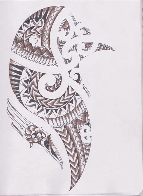 angel tattoo ta maori samoan ta moko concept by bloodempire on deviantart
