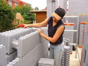 passivhaus selber bauen haus selber bauen mit isorast rohbau schnell und einfach