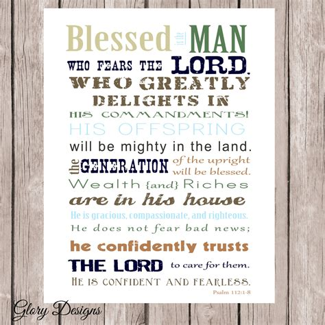 Scripture For S Day Bible Verse S Day Scripture Psalm 112