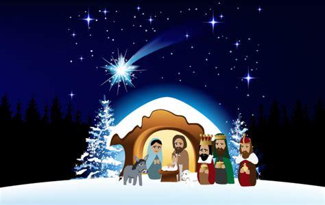 imagenes navidad nacimiento niño dios navidad pesebre descargar vectores gratis