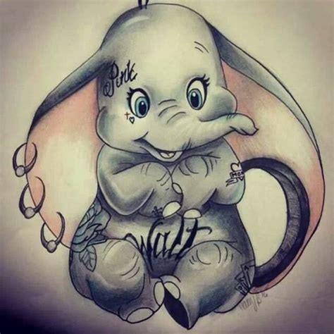 dumbo tattoo designs dumbo so cuuuuuuuuute image 1861298 by maria d