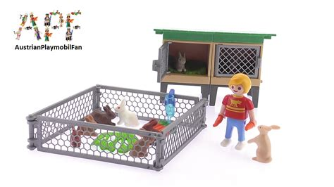 Playmobil Rabbit Hutch playmobil country 6140 farm rabbit pen with hutch playmobil review