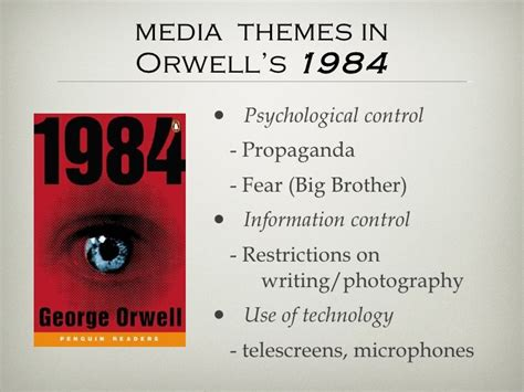 themes in 1984 power media literacy and 1984