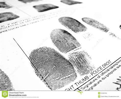 No Fingerprints No Criminal Record Fingerprints Royalty Free Stock Photo Image 21932165
