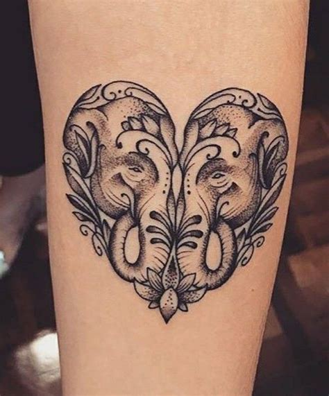 elephant heart tattoo 31 best gemini project images on ideas