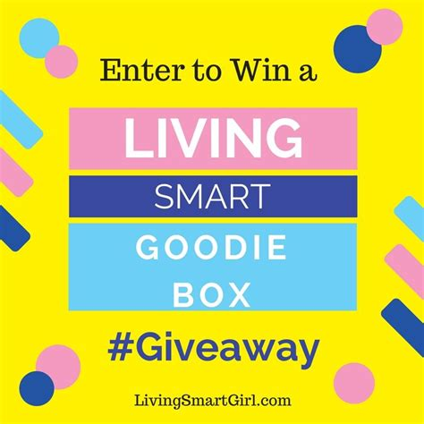 Smart Giveaways Emails - living smart goodie box giveaway