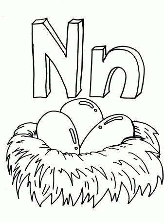 coloring page nest n for nest coloring sheets coloring pages