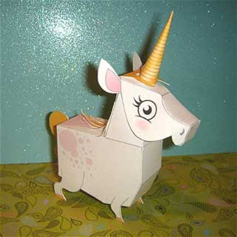 Papercraft Unicorn - mythology papercraft unicorn pegasus paperkraft net