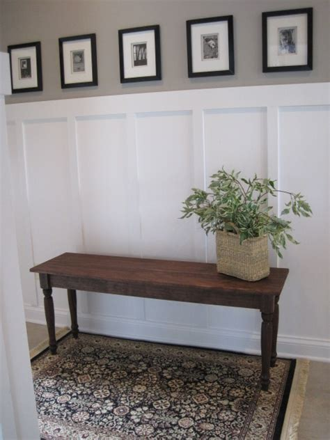 pottery barn white bench pottery barn inspired bench ana white woodworking projects