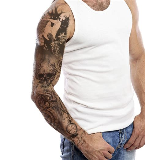 alluring full sleeve tattoo designs to shape a story on