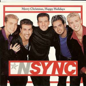 nsync merry christmas happy holidays releases discogs