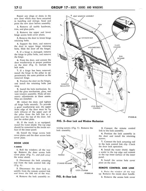 old car manuals online 2012 ford e series lane departure warning 1964 ford and mercury shop manual part 15 part 23 page 44 of 90