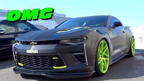 camaro modified amazing look modified camaro ss 2016 walk around