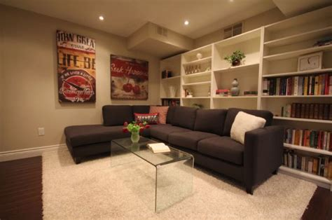 Basement Rugs 5 suggestions for decorating a renovated basement