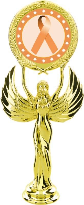 Www Pch Com Gold - gold 7 1 2 quot peach ribbon awareness trophy figure awareness trophy figures from