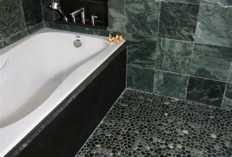 grey pebble tiles bathroom island stone java grey perfect pebble floor 2 kitchen
