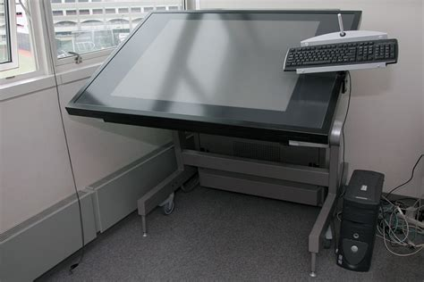 Digital Drafting Table Digital Drafting Table Digital Drafting Tables Ispace Workstation Ideum Breaks Out 4k