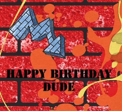 Paint Splatters  Free Birthday for Him eCards, Greeting