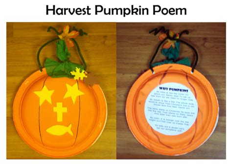 harvest crafts christian pumpkin each shape to be glued on is a symbol