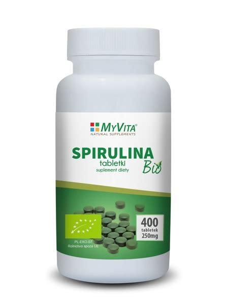 Spirulina Detox by My Vita Spirulina 250mg 400tabs Supplements Food
