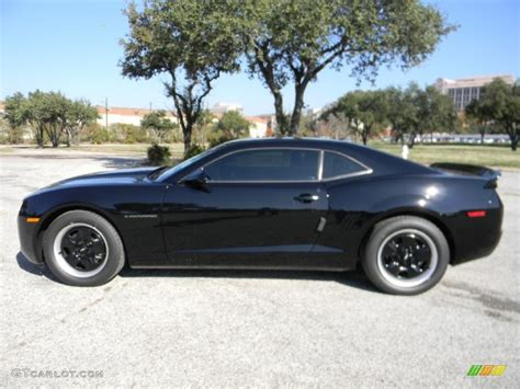 and black ls black 2012 chevrolet camaro ls coupe exterior photo