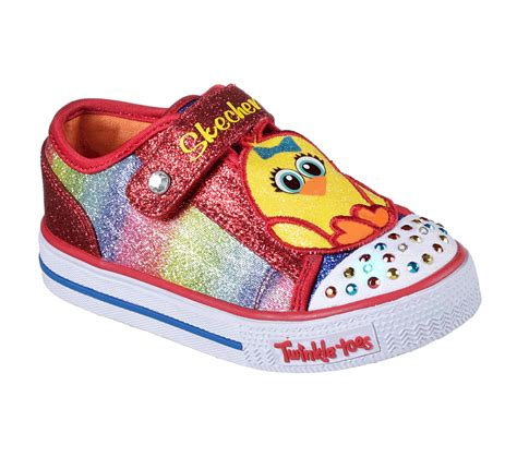 twinkle toes shoes buy skechers twinkle toes shuffles chickadee s lights