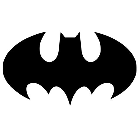 symbol template bat symbol batman stencil made from 4 ply mat board from
