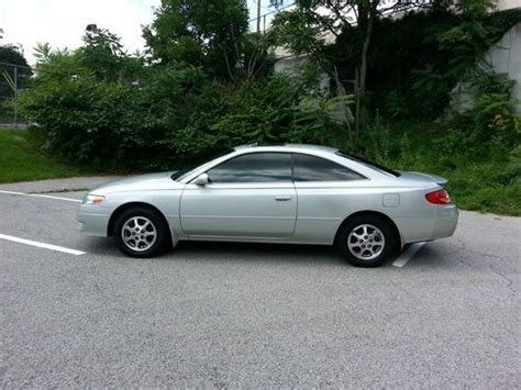 automobile air conditioning service 2002 toyota solara electronic toll collection purchase used 2002 toyota solara se pristeen cond 2 door camry 4cyl automatic cream puff in
