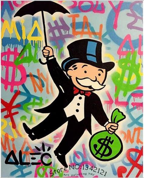 hand painted oil painting street art richie rich graffiti