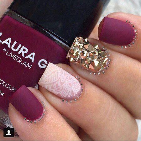 imagenes de uñas pintadas de color turquesa dise 241 os de u 241 as decoradas con estilo mate