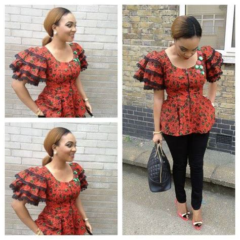 ankara tops styles nigerian ankara fashion style lovely ankara top