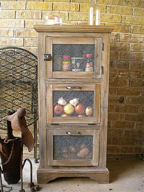 Vegetable Cupboard Storage vegetable storage cupboard kitchen cabinet of reclaimed wood