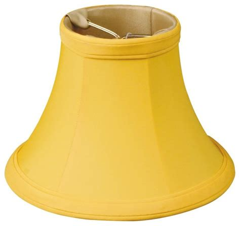 Yellow Chandelier Shades 5 Quot Yellow Bell Chandelier Shade Traditional Lighting Globes And Shades By Royallshades
