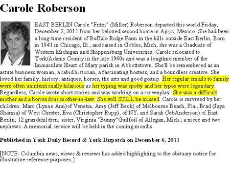 how do you write an obituary template how to write an obituary for template business